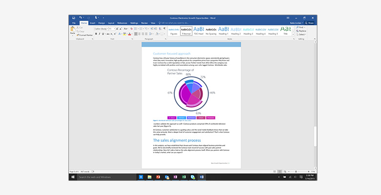 Buy the Microsoft Office Mac 2016 Home & Student Medialess 1 License  Word,    ( GZA-00984 ) online